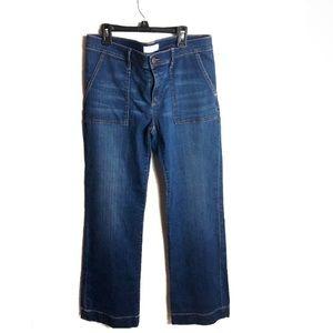 LOFT women's wide leg trouser size 29/8